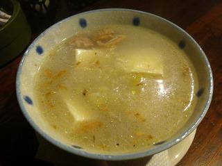 生姜湯豆腐