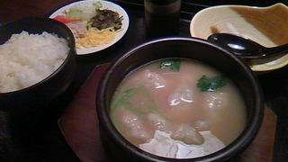炊き餃子定食