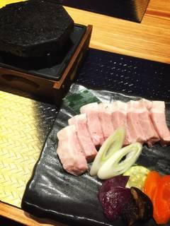 松坂豚のステーキ