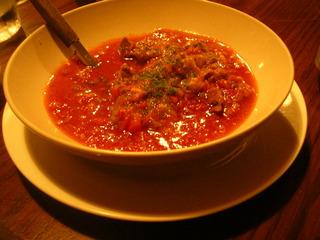 牛スジのトマトシチュー