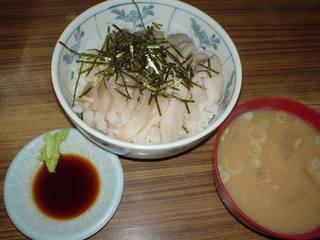 ホッキ貝丼