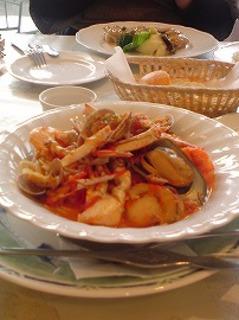 魚介のブイヤベース風スパゲティー