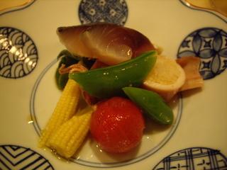 海鮮&野菜のサラダ