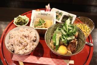かちゅー湯定食(たてぃ汁)