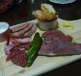 お肉の前菜4種盛合せ