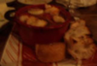海老と島野菜と島豆腐のアヒージョ