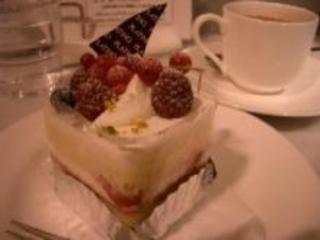 ベリーのショートケーキ
