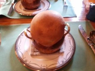 きのこのパイ包みスープ、ヒレ肉がおいしい おまかせコース