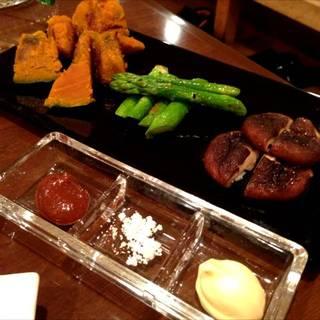 本日の野菜焼(3品)