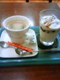 コーヒーシェイク&ゼリー(カプチーノ風)