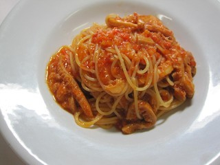 スパゲッティーニ トリッパ