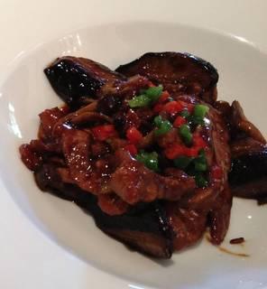 豚肉と茄子のピリ辛炒め
