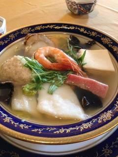 白湯スープの中華風ポトフ