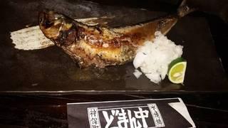 その日の魚一本焼き