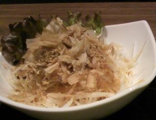 シャキシャキ大根サラダ