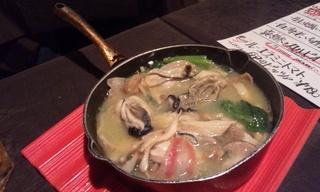 牡蛎ときのこのオイル煮
