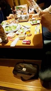 《せせらぎ》刺身と鮭バター鍋+3H飲放題付