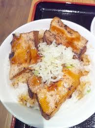 焼豚のせご飯