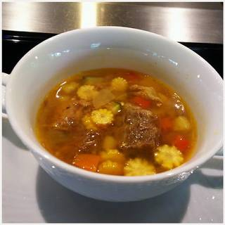 和牛のスープ