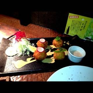 毛蟹とトウモロコシのクリームコロッケ