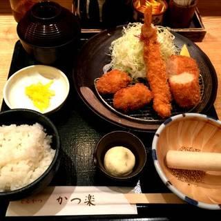 海鮮ミックス定食