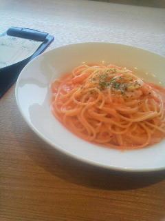 海老のトマトクリームソース