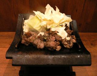 宮崎地頭鶏モモ炭火焼