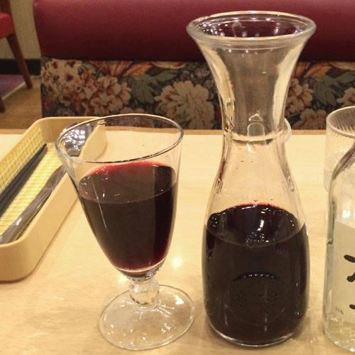デキャンタワイン赤