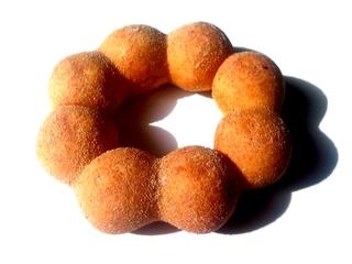 ポン・デ・黒糖