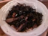 北海道産黒豆とひじきの煮物
