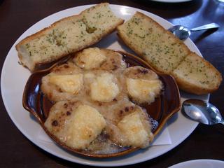 カマンベールチーズのグラタン