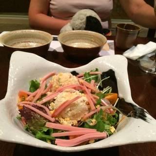 卯の花とロースハムのサラダ