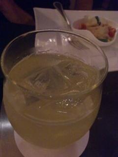シャンパンレモネード