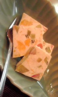 季節のクリームチーズアイス