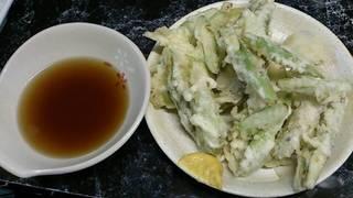 グリーンアスパラ天ぷら