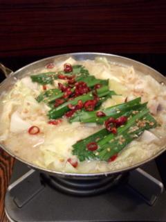 白味噌 もつ鍋