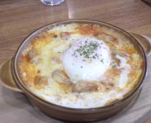 半熟卵のチキンドリア