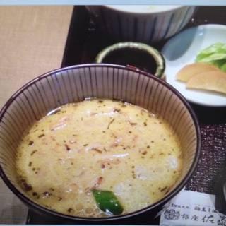 比内地鶏使用 タイ風グリーンカレーつけ麺