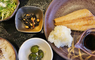 おすすめ焼魚定食
