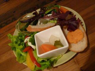 【前菜盛り付き】茶屋町ナポリタンランチ ドルチェセット