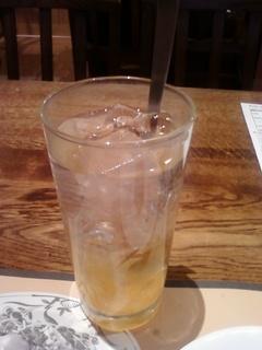アイス柚子茶