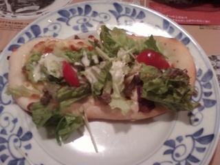 フレッシュサラダピザ