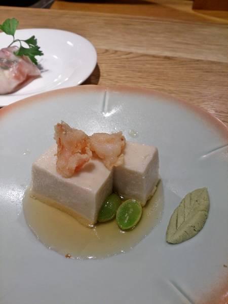 自家製もっちり胡麻豆腐