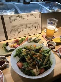 加賀野菜のサラダ