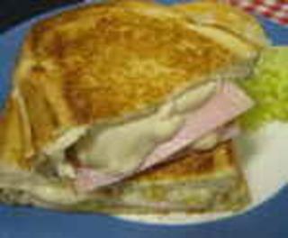 ハムチーズグラタンサンド