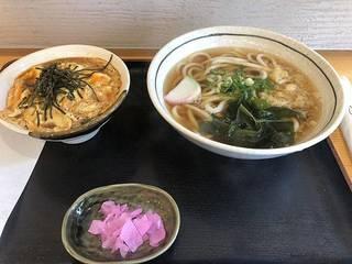 ミニ玉子丼定食