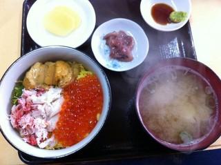 海鮮3種丼