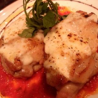 鶏肉のモッツァレラオーブン焼き
