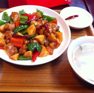 鶏と筍の山椒味炒め ランチ
