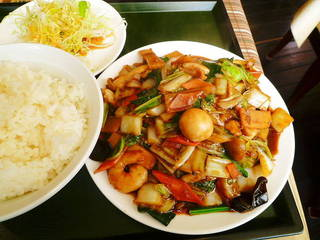 八宝菜ランチセット